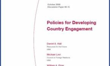 Policies for Developing Country Engagement