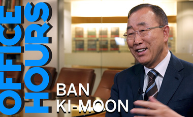 Ban Ki-moon on Office Hours