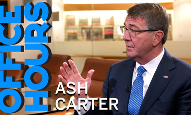 Ash Carter on Office Hours