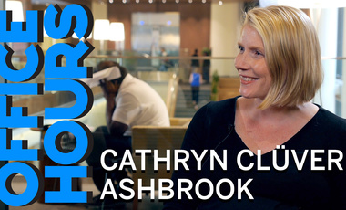 Cathryn Clüver Ashbrook on Office Hours Podcast