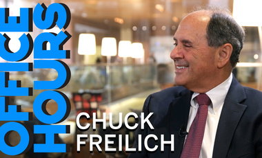 Chuck Freilich on Office Hours Podcast