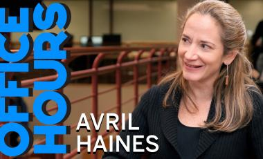 Avril Haines on Office Hours