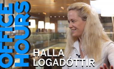 Halla Logadóttir on Office Hours