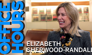 Elizabeth Sherwood-Randall on Office Hours