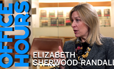Elizabeth Sherwood-Randall on Office Hours Podcast