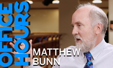 Matthew Bunn on Office Hours