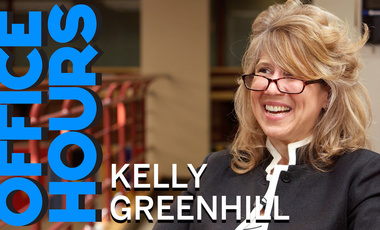 Kelly Greenhill on Office Hours