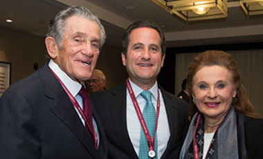 Robert, Laurence, and Renée Belfer