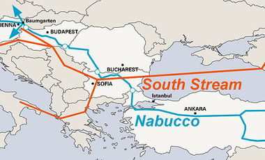 2010 Nabucco and South Stream