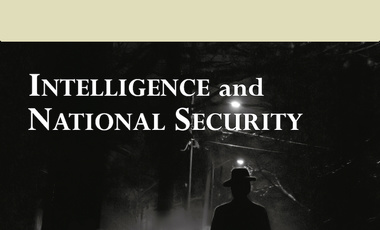 Intelligence and National Security Cover