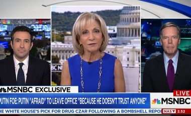 Nicholas Burns on MSNBC's Andrea Mitchell Reports