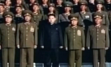 North Korea's heir apparent observed military drills with his father, heralding a growing public profile for Kim Jon-un as he takes on a more prominent role in the reclusive nation.