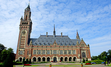 The Peace Palace in The Hague - 100th Anniversary