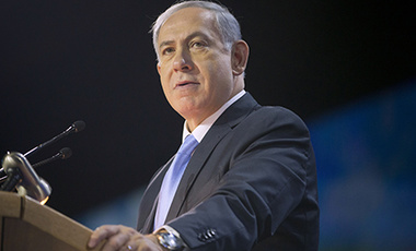 Israeli Prime Minister Benjamin Netanyahu speaks at the American Israel Public Affairs Committee (AIPAC) Policy Conference in Washington, Monday, March 2, 2015.