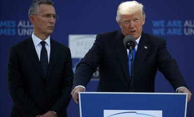 Trump at NATO Summit in May
