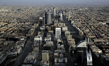 A  general view of Riyadh, Saudi Arabia, June 2018. (AP Photo/Nariman El-Mofty)