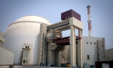 Bushehr nuclear power plant in Iran, August 20, 2010.