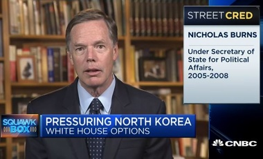 Nick Burns on CNBC