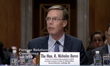 Nicholas Burns before the Senate on the value of NATO