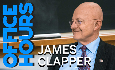 James Clapper on Office Hours Podcast