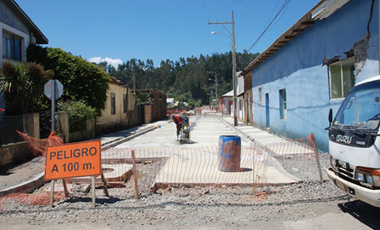 The village of Cobquecura, Chile, recovering from 8.8 magnitude earthquake in 2010 with help from the Recupera Chile project. (Photo: Jose Rios)