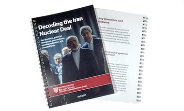 Decoding the Iran Nuclear Agreement for Leaders in Washington and Beyond