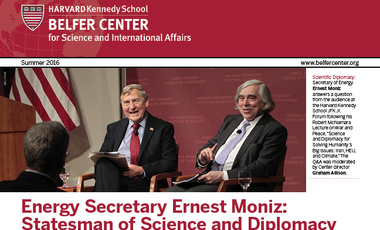 Summer 2016 Belfer Center Newsletter