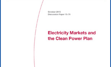 Electricity Markets and the Clean Power Plan