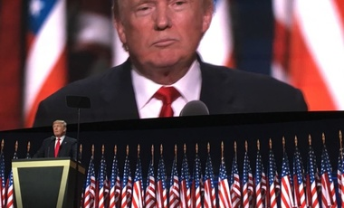President Trump at the RNC