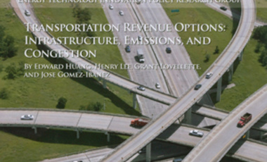 Transportation Revenue Options: Infrastructure, Emissions, and Congestion