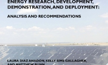 DOE FY 2010 Budget Request and Recovery Act Funding for Energy Research, Development, Demonstration, and Deployment: Analysis and Recommendations