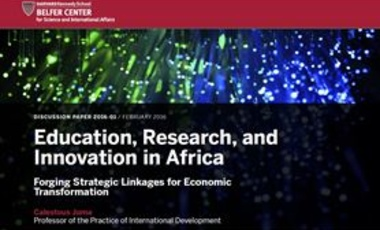 Education, Research, and Innovation in Africa: Forging Strategic Linkages for Economic Transformation