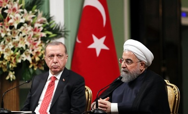 Rouhani and Erdogan Iran Turkey