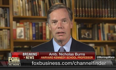 Nicholas Burns speaks to Fox Business Network