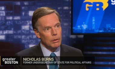 Nicholas Burns on Greater Boston
