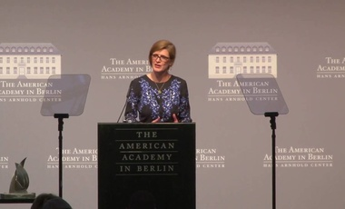Amb. Samantha Power at the Awarding of the 2016 Henry A. Kissinger Prize