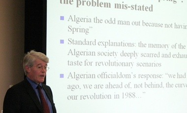 "Dr. Hugh Roberts, ""Buttressing the Status Quo: The Problem of Algeria's ""Opposition"" and its Democratic Deficit"""
