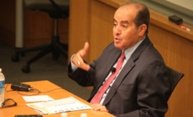 "Video: ""The Future of Arab Upheavals"" with HE Dr. Mahmoud Gebril"