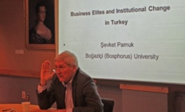 "Podcast: ""Business Elites and Institutional Change in Turkey"""