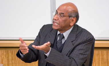 Former Indian Foreign Secretary Shyam Saran Discusses Indian Foreign Policy in a Transitional Era