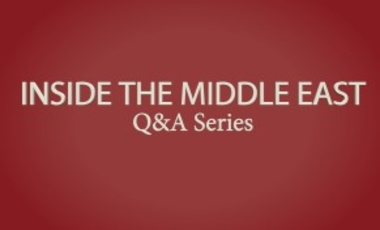 Inside the Middle East: Q&A with Karim Sadjadpour