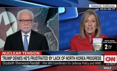 Elizabeth Sherwood-Randall on CNN