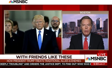 Nicholas Burns talks to MSNBC about NATO