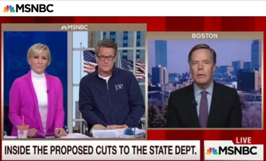 Nicholas Burns MSNBC diplomacy Morning Joe