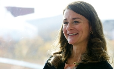 Melinda Gates is helping to change the face of global health by giving millions the chance for a better life.