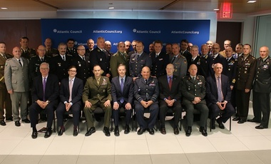 Ambassador Burns with NATO Military Committee delegation