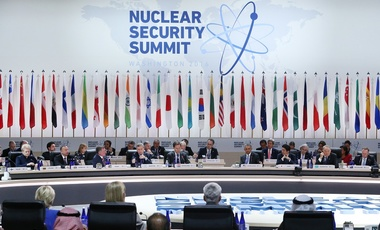 The opening session of the Nuclear Security Summit in Washington, D.C., April 1, 2016.