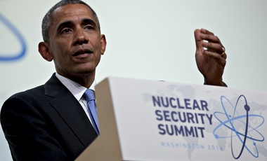 President Barack Obama speaks during a news conference at the Nuclear Security Summit in Washington, D.C. on April 1, 2016.