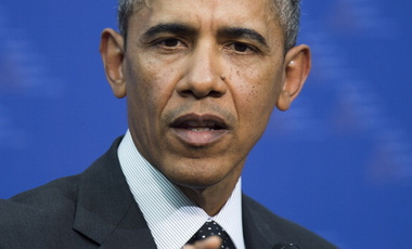 President Barack Obama at the Nuclear Security Summit, March 25, 2014