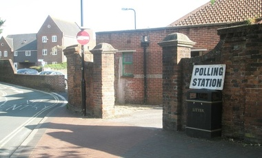 Polling Station at St Faith's Church Hall